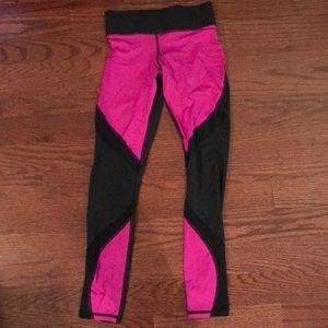 MICHI Pants - Michi fuchsia and black leggings. Size XS.